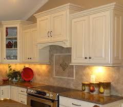 kitchen kitchen backsplash ideas with cherry cabinets beige bevel pattern tile backspalsh colorful ceramic trends