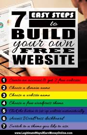 easy steps to build a website legitimate ways earn money online here i m going to show you the basic steps on creating your own website