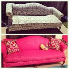 furniture fabric paintChalk Paint decorative paint couch transformation  Chalk Paint