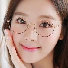 get ations female lightweight eyeglass frame glasses myopia retro round glasses frames myopia female female golden literary small