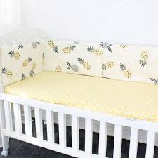 best baby bed per soft breathable cartoon pattern baby crib protector for children croth to the