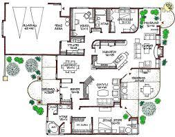 MEDITERRANEAN Eco Friendly Home Green House Plan