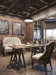 awesome modern office decor pinterest. Interesting Ideas Rustic Office Design Fine 17 Best About Home Offices On Pinterest Awesome Modern Decor O