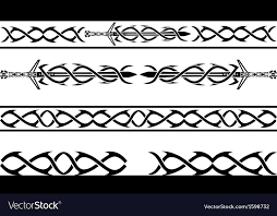 Viking Patterns Stunning Fantasy Vikings Pattern Royalty Free Vector Image