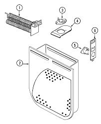 tag model hye3657ayw residential dryer genuine parts