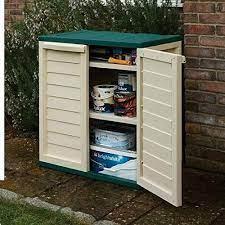 outdoor garden storage cupboard 2 door