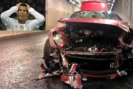 Having won the second serie a championship in the second year with juventus, cristiano ronaldo bought a car as a championship gift. Cristiano Ronaldo Crashed A Ferrari Rowan Atkinson Smashed His Mclaren Which Other Celebrities Wrecked Their Ultra Luxury Cars South China Morning Post