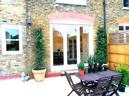 folding glass doors exterior cost folding patio door ideas folding patio doors cost or bi