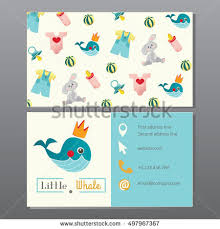 Toy Store Business Card Template Kids Store Newborn Clothes Ba Shop