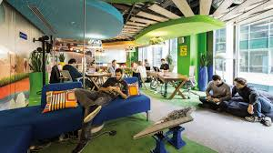 google inc office. How Organizations Are Changing Their Office Spaces To Boost Google Inc R
