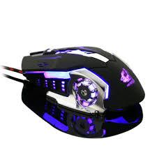 Wired LED Light 4000DPI <b>Mice</b> Usb Ergonomic <b>Pro Gamer Gaming</b> ...