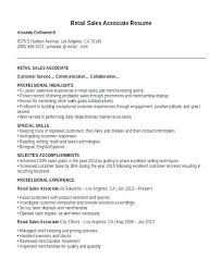 Sales Associate Resume Examples Cool Marketing Sales Resume Retail Sales Associate Resume Sample Sales