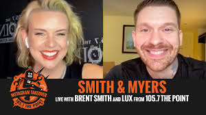 WATCH! LUX catches up with BRENT SMITH of Shinedown and Smith & Myers –  105.7 The Point
