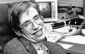 Resultado de imagem para fotos ou imagens de Stephen Hawking
