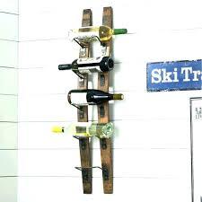 wall ski racks wall ski racks wall mount ski rack large image for wine rack building wall ski racks