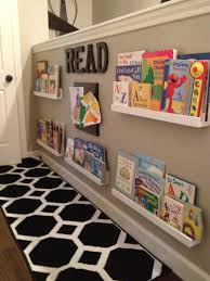 Fantastic book case/display idea!!! I love it and it takes up