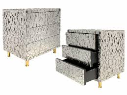 tin furniture. kam tin pair of pyrite nightstands furniture