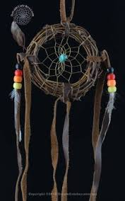 Authentic Dream Catchers For Sale 100 Inch Navajo Vine Dream Catcher with Turquoise Stone 2