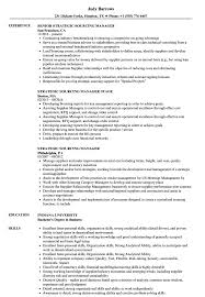 Sourcing Manager Resume Strategic Sourcing Manager Resume Samples Velvet Jobs 1
