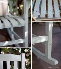 upcycle your rocking chairs with this diy chalk paint tutorial