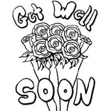 Simple free hello kitty coloring page to print and color. Top 25 Free Printable Get Well Soon Coloring Pages Online