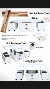 convertible center table furniture fixture metro manila philippines dylan03