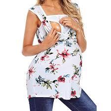 Amazon Com Franterd 2019 Maternity Clothes Women Pregnancy