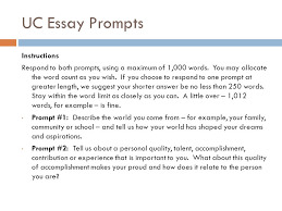 Personal Statement Examples Uc Prompt 2