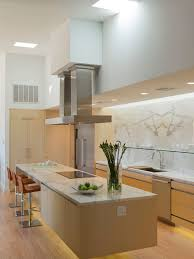 ... Clever Design Floating Island Kitchen Houzz ...