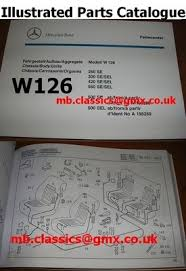 Just look for your desired spare part in our catalogue, and you will find it for sure. Mercedes W126 Illustrated Picture Parts Catalogue 560 500 420 300 260 Se Sel 267636848