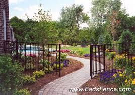 aluminum fence landscaping aluminum