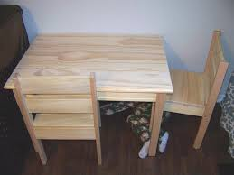 kids table chair ideas wood