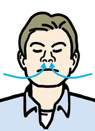 「鼻呼吸」の画像検索結果