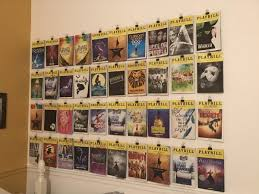 broadway themed room