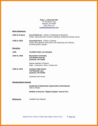 Example Of High School Resume High School Resume Examples For Scholarships Pdf Samples Skills 48