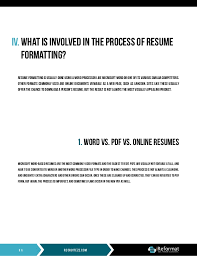 Resume Formatting Mesmerizing Automated Resume Formatting Whitepaper