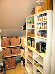 turn closet into pantry under stairs storage solutions shelves