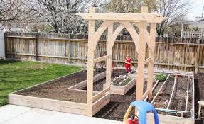 Small Picture Vegetable Garden Arbor DIY Plans