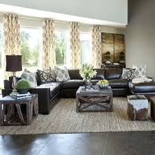 rugs for brown sofa sectional in center instead of against the walls dark couch and neutral rugs for brown sofa