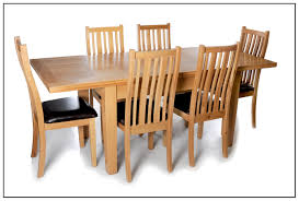 6 Seater Oak Dining Table And Chairs Sewstars