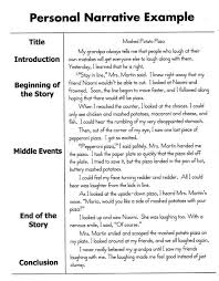 video example and personal narrative essay sample homeschool video example and personal narrative essay sample
