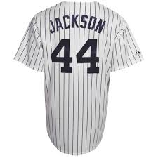 York Majestic Throwback - Jackson Collection New 44 Yankees Pinstripe Cooperstown Jersey Reggie White befbdaeaba The Carrying Of The Inexperienced (and Gold)
