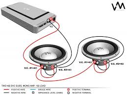 wiring diagrams 4 dual 4 ohm subs 1 ohm subwoofer wiring dual 2 ohm sub wiring wiring diagrams 4 dual 4 ohm subs 1 ohm subwoofer wiring articles and images