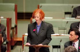 Maiden Speech - Julia Gillard