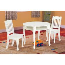 children 039 s windsor round table and chair set white baby