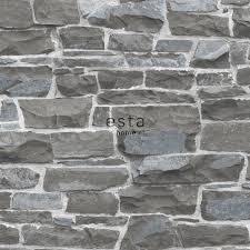 Stenen Muur Behang