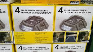 manor house solar led marker lights to mark a path