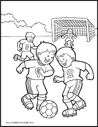 Pleasant Idea Soccer Coloring Page Pages For Kids 2 Rona Youruseful