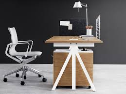 image modern home office desks. String Works Height-Adjustable Desk Image Modern Home Office Desks