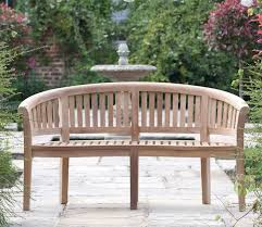 outdoor bench garden seat teak